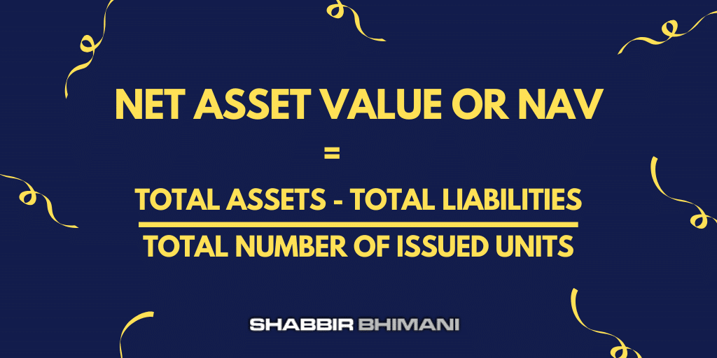 Net Asset Value or NAV