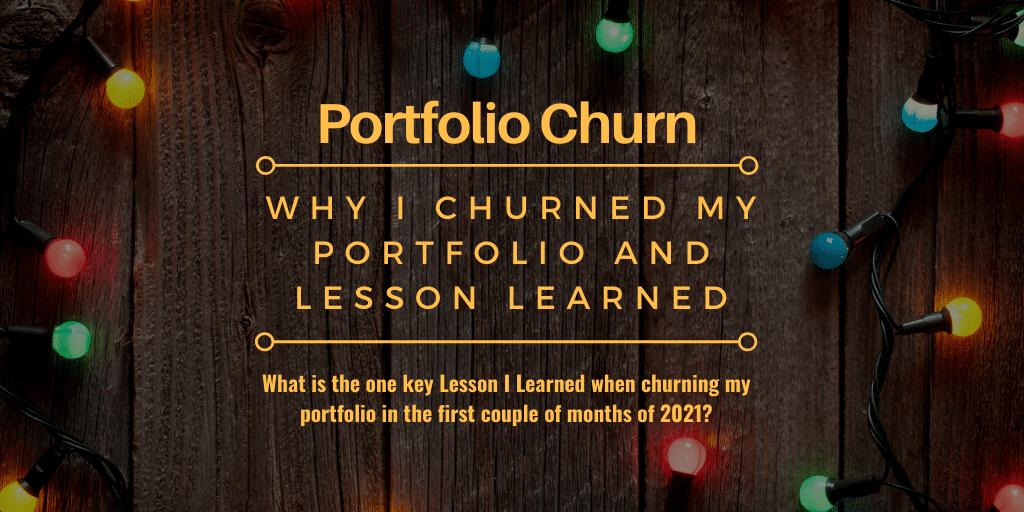 Portfolio Churn