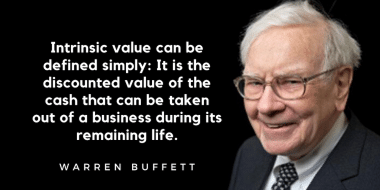 Warren Buffett Intrinsic Value Quote