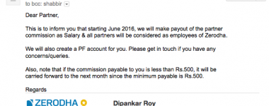Why I Have Stopped Recommending Zerodha – Looks Phishy and Scam