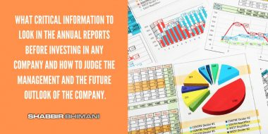 How to Read Critical Information in the Annual Reports Faster?