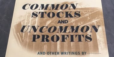 Common Stocks And Uncommon Profits And Other Writings Of Philip Fisher