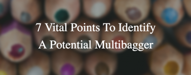 How To Identify a Potential Multibagger Stock – 7 Vital Points To Look For